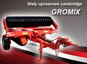Wały uprawowe cambridge GROMIX