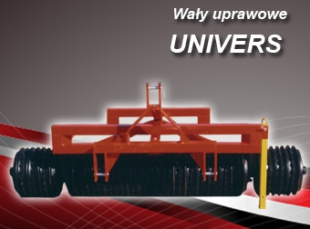 Wały uprawowe cambridge UNIVERS
