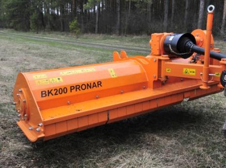 KOSIARKA TYLNO-CZOŁOWA PRONAR BK110/140/160/180/200/250